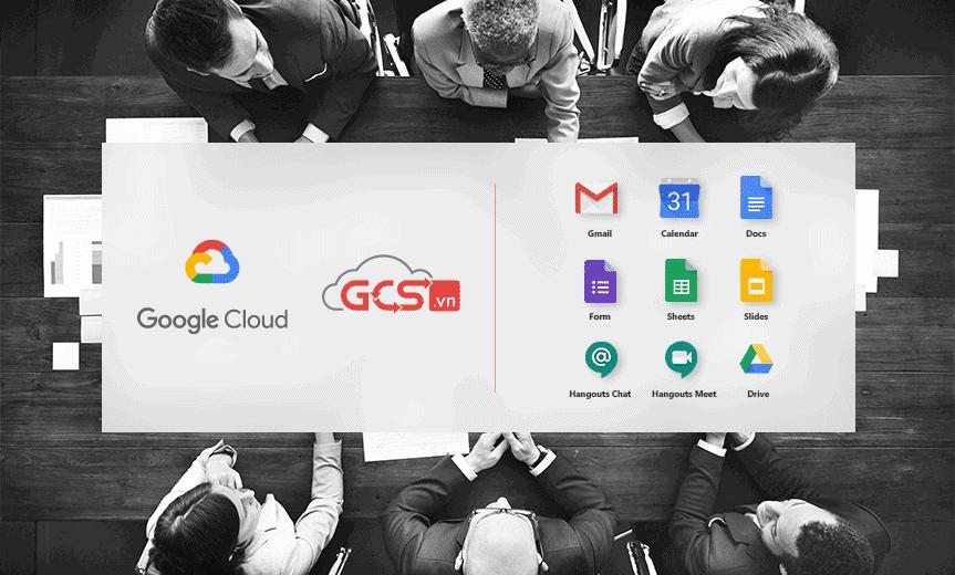 Bộ công cụ G Suite cơ bản, phù hợp cho doanh nghiệp nhỏ và vừa