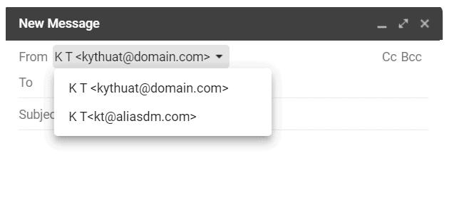 ung dung va cai dat cua dia chi email bi danh email alias 4