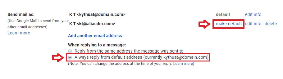 ung dung va cai dat cua dia chi email bi danh email alias 5