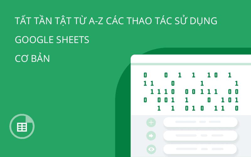 google sheets a z