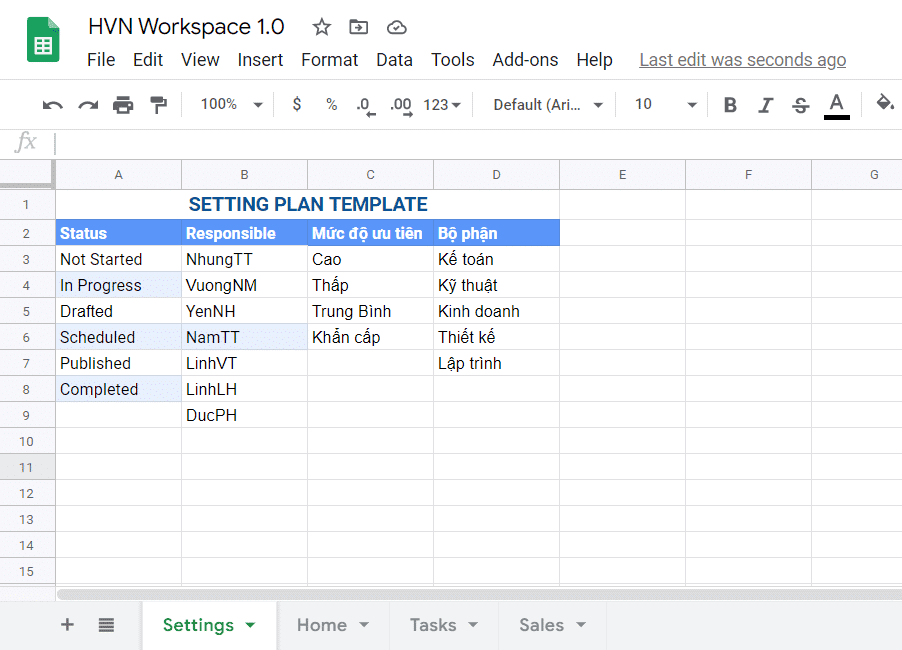 workspace az
