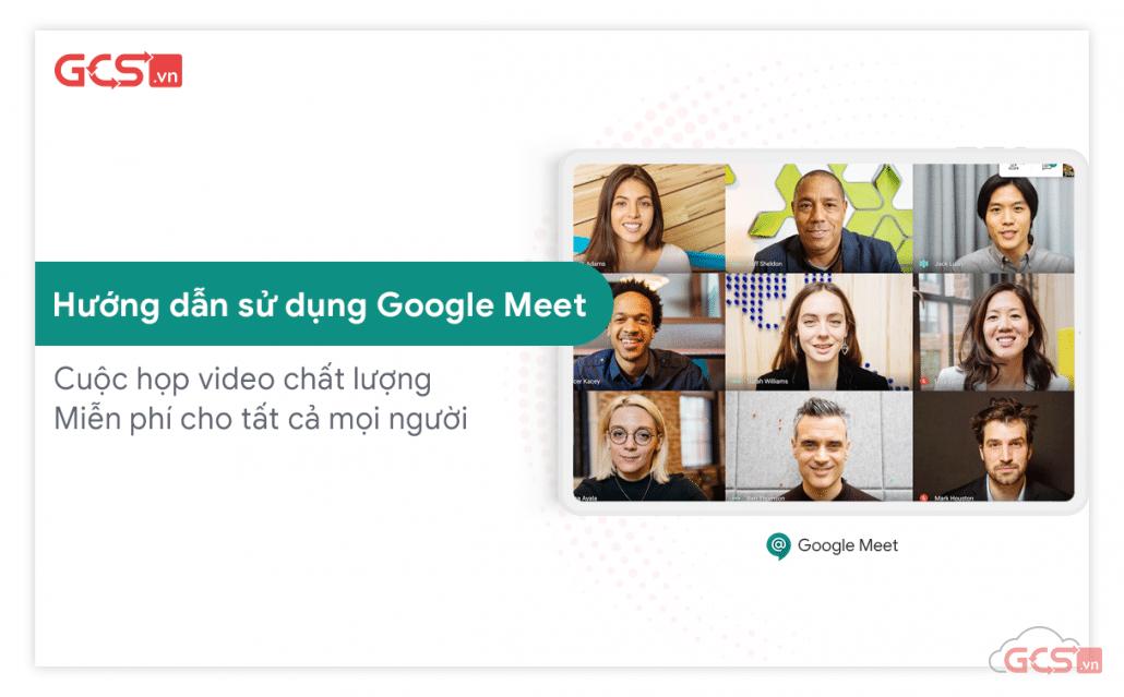 họp video trực tuyến với Gmail