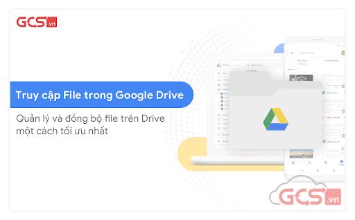 quản lý và đồng bộ file trên Drive