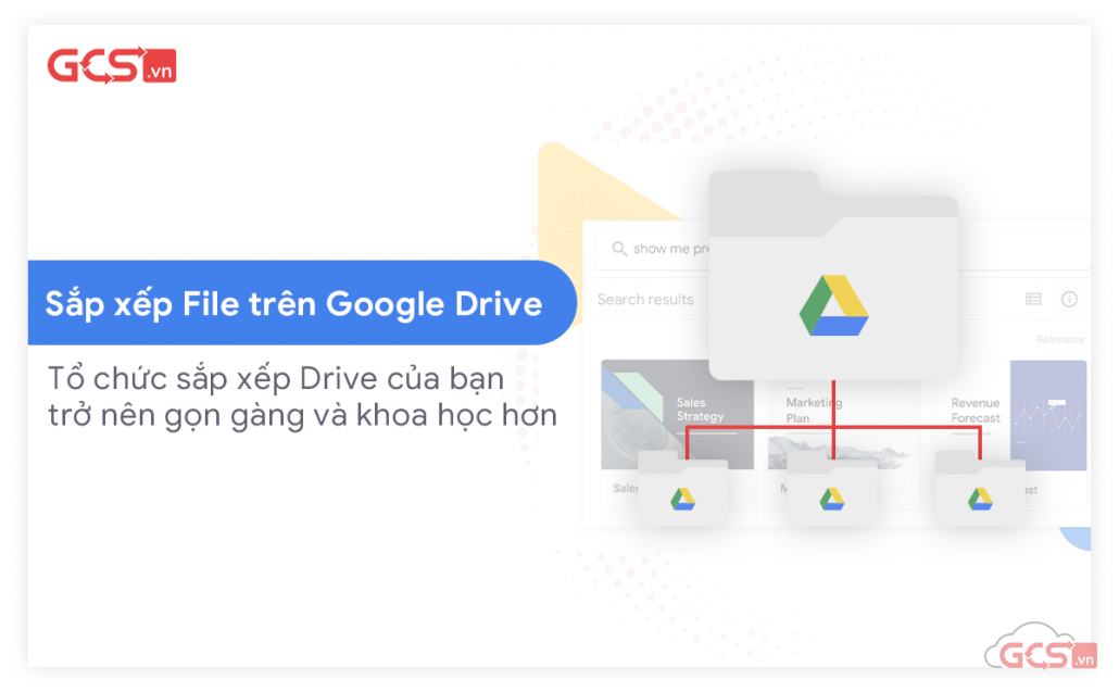 sắp xếp file trên Google Drive