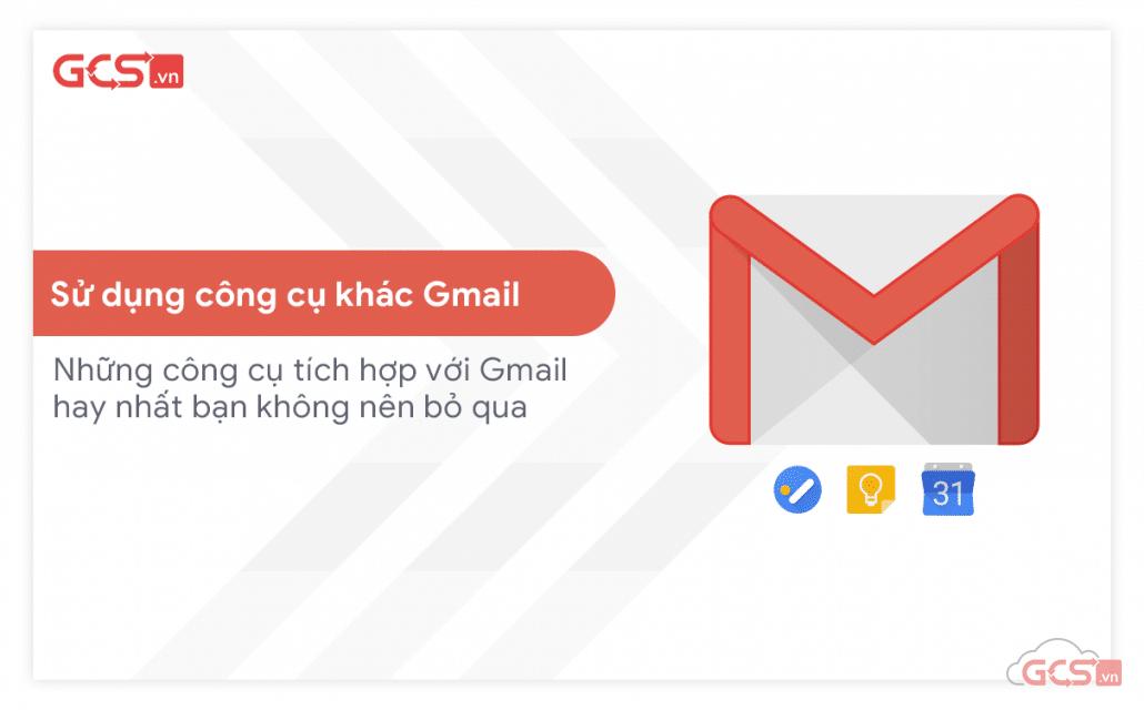 sử dụng công cụ khác gmail