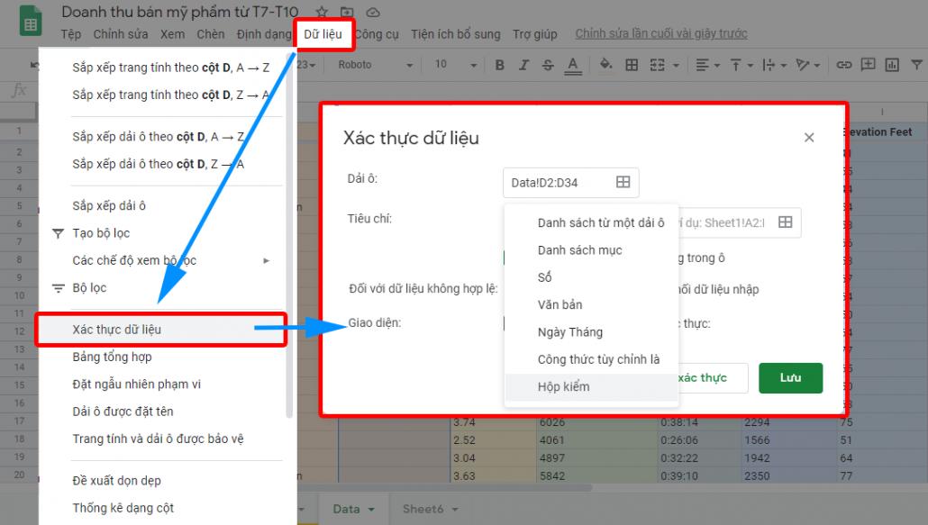 10 meo su dung google sheets 3 2