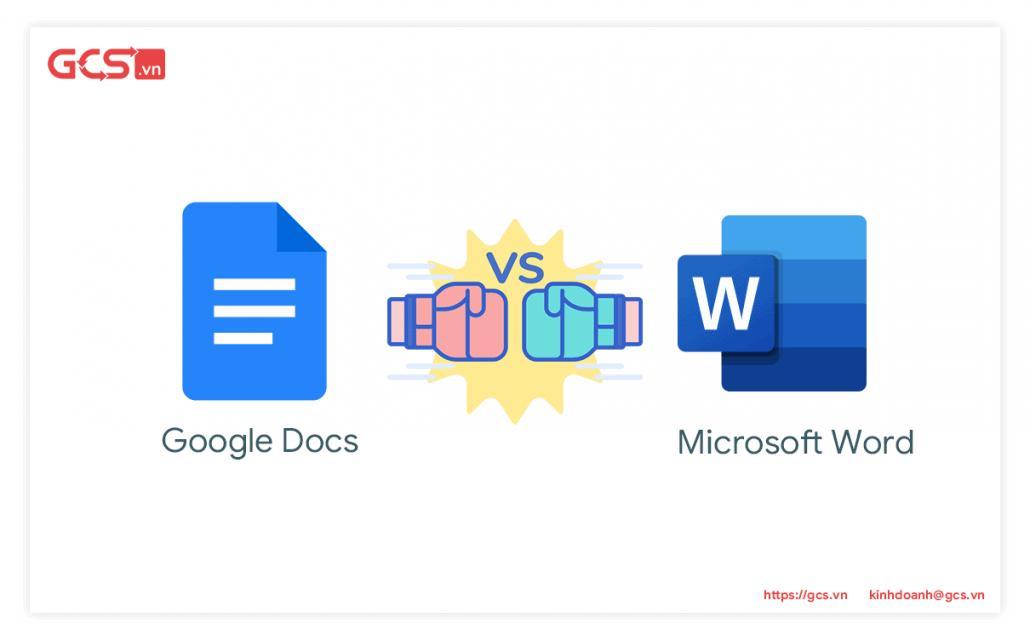 Google Docs va Microsoft Word 1