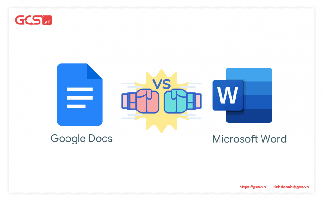 Google Docs và Microsoft Word
