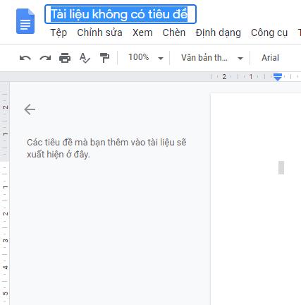 Làm chủ Google Docs