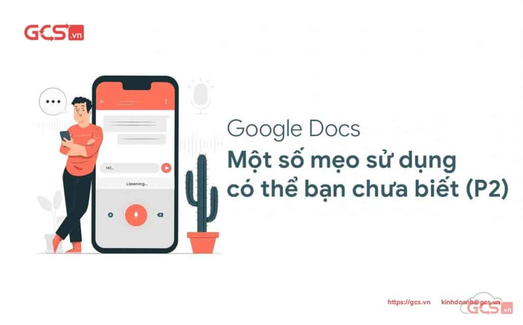 Một số mẹo sử dụng Google Docs có thể bạn chưa biết (Phần 2)