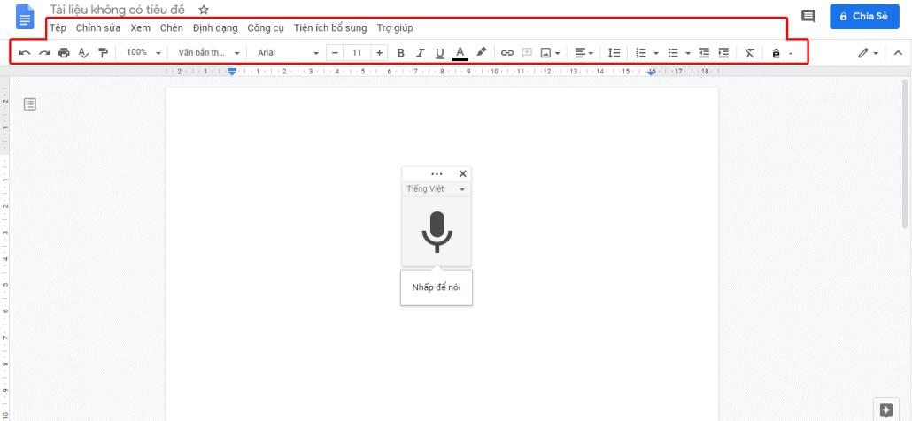 mẹo sử dụng google docs