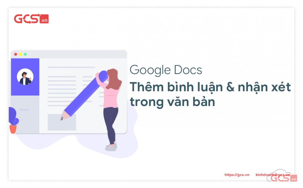 nhận xét trong google docs