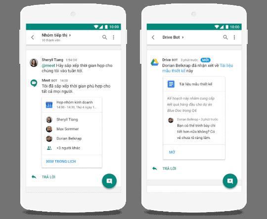 Đơn giản hóa tính năng nhắn tin riêng và nhắn tin theo nhóm