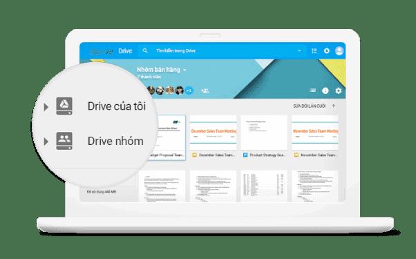 Lưu trữ, truy cập và chia sẻ tệp của bạn ở một nơi an toàn