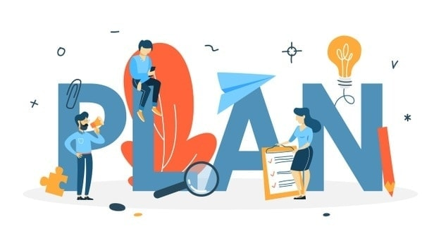 plan concept idea business planning strategy setting goal target following schedule isolated flat 277904 1078