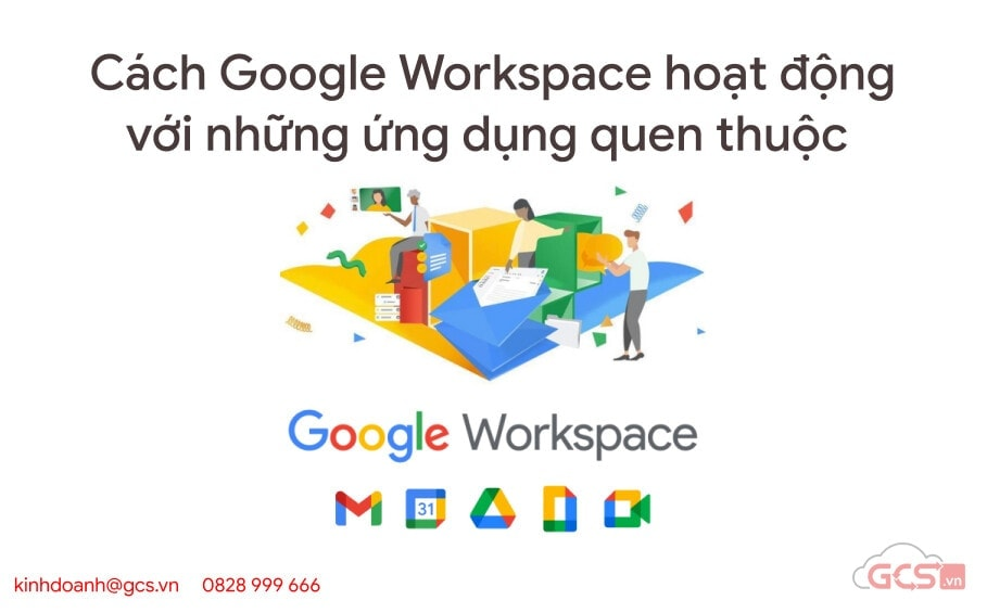 cach google workspace hoat dong voi nhung ung dung quen thuoc