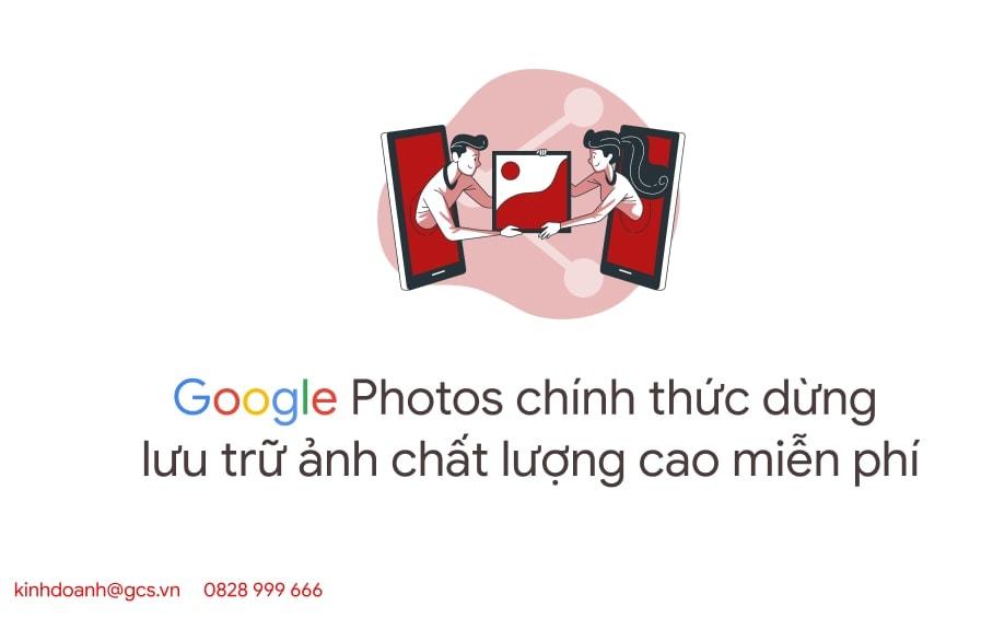 google photos dung luu tru chat luong cao