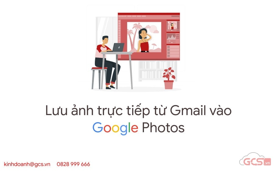 luu anh truc tiep tu gmail vao google photos