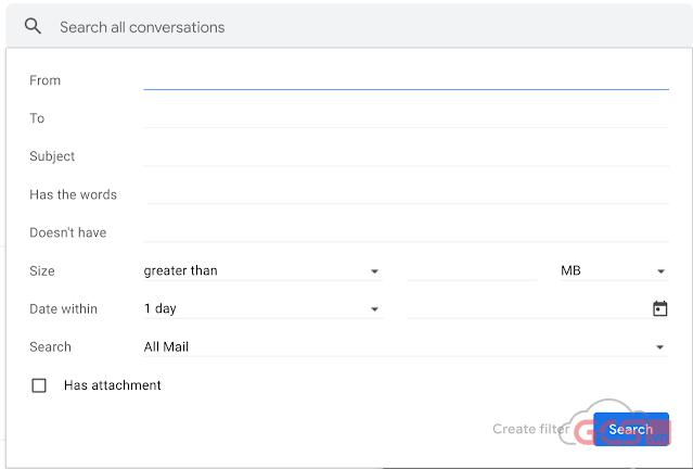 cap nhạt giao dien tim kiem moi cua gmail 3