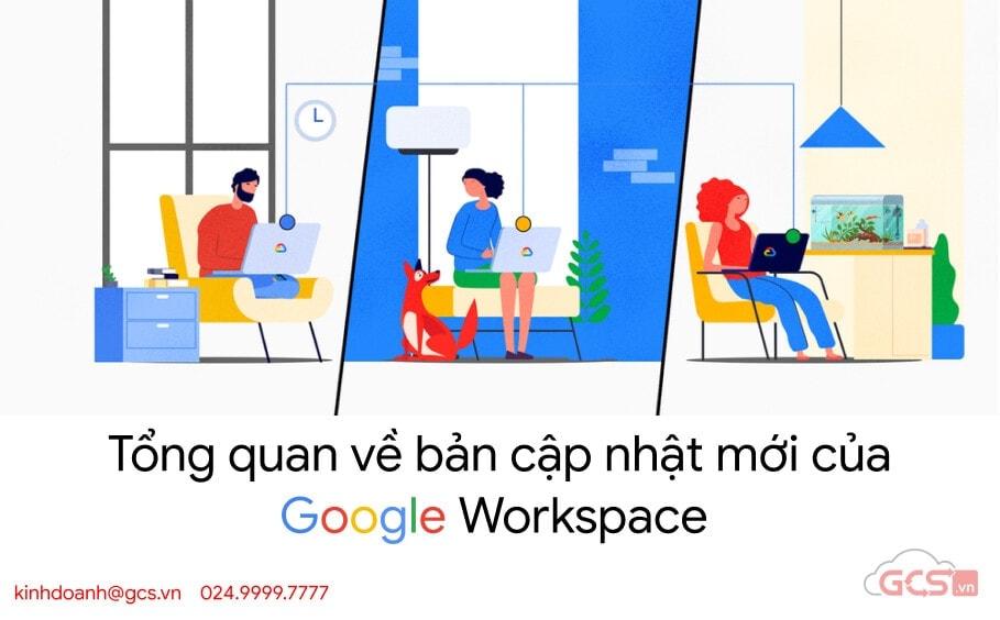 cap nhat google workspace