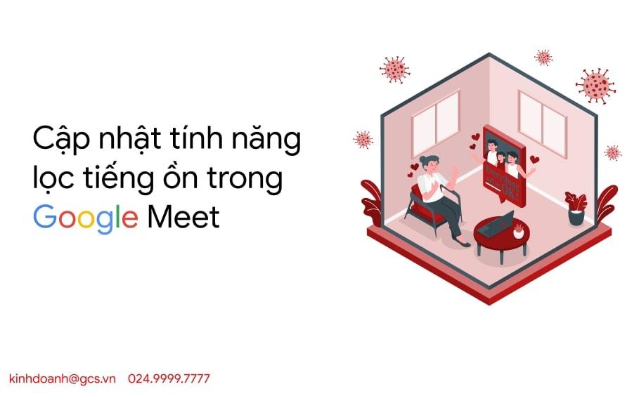 loc tieng on google meet