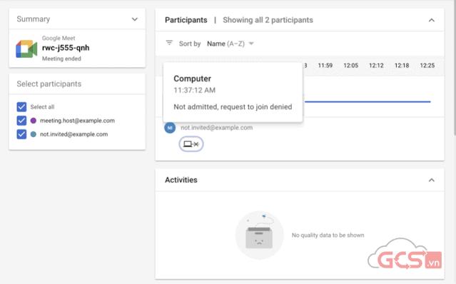 meet quality tool google meet