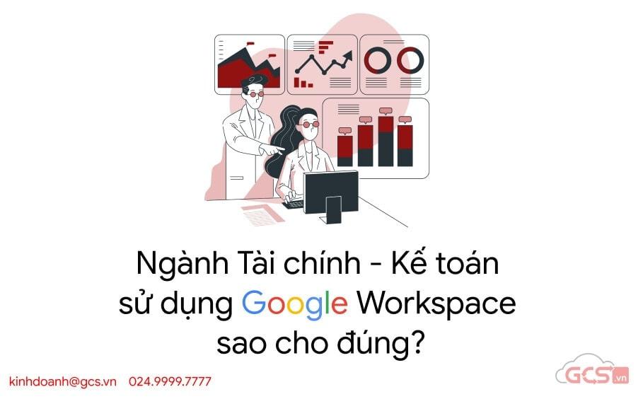 tai chinh ke toan su dung google workspace