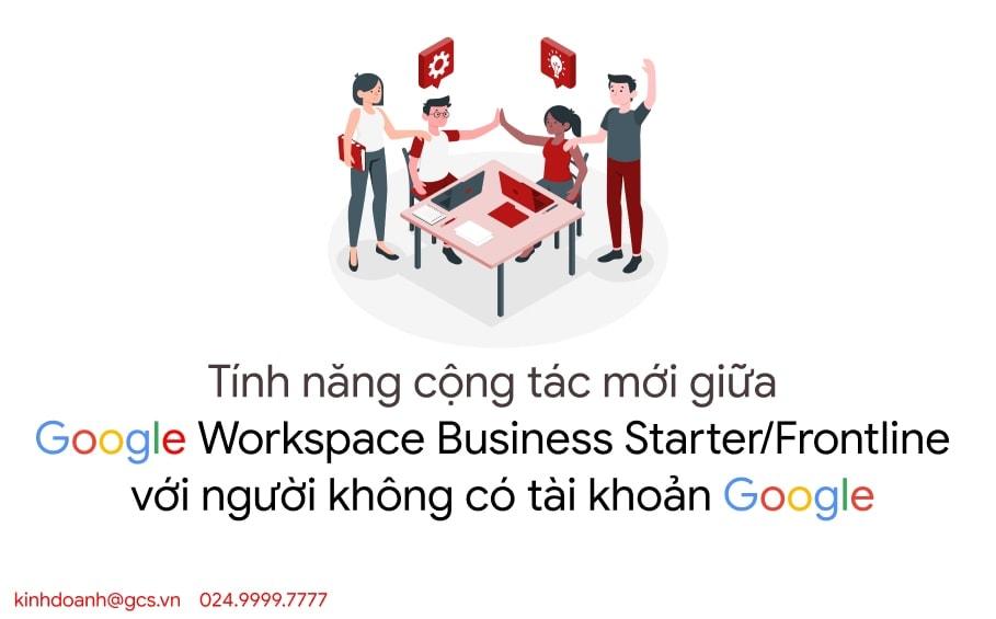 google workspace cong tac nguoi ko co tai khoan google