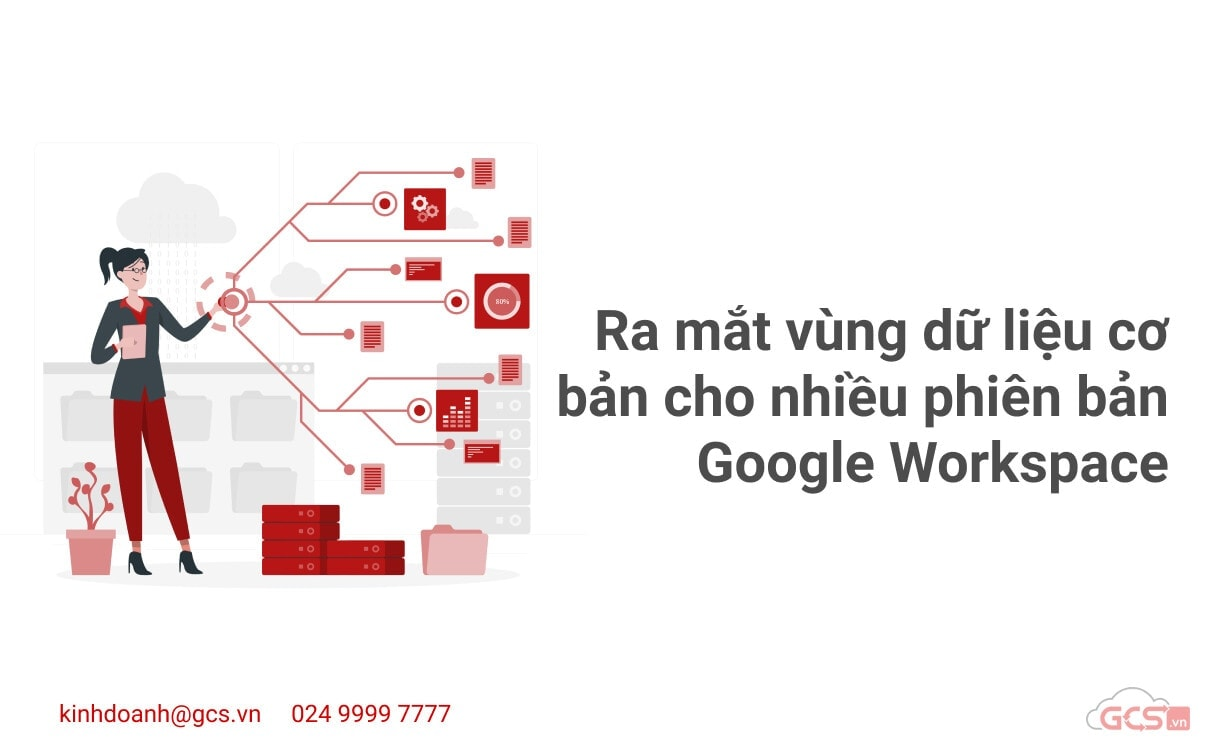 ra mat vung du lieu co ban cho nhieu phien ban google workspace