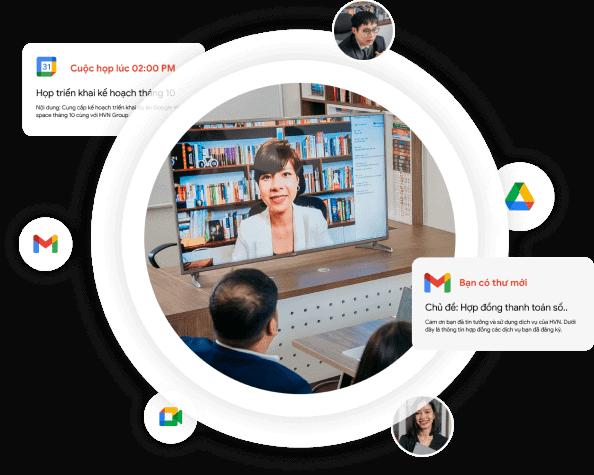 Giải pháp chuyển đổi số Google Workspace